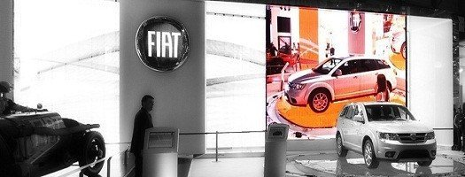Led walls at Automobile Showrooms