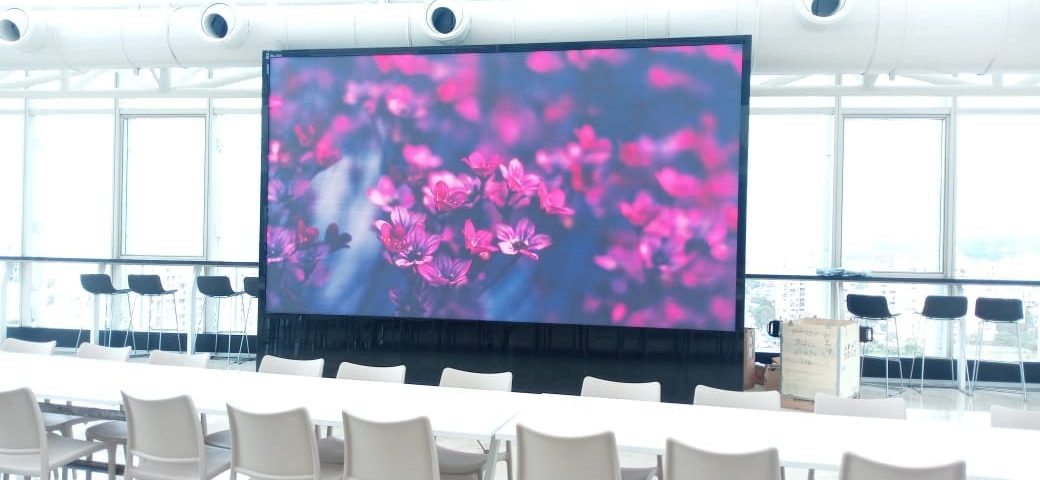 Indoor LED Display at Bitwise, Pune - Xtreme Media