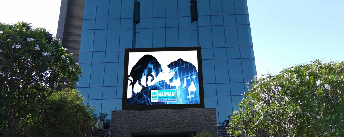 Outdoor LED display for Marwadi