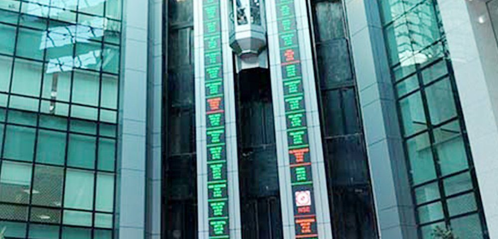 Twin Verticle LED Tickers at National Stock Exchange, Mumbai - Xtreme Media
