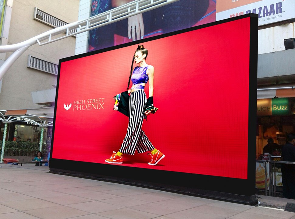 6mm LED Display for Courtyard