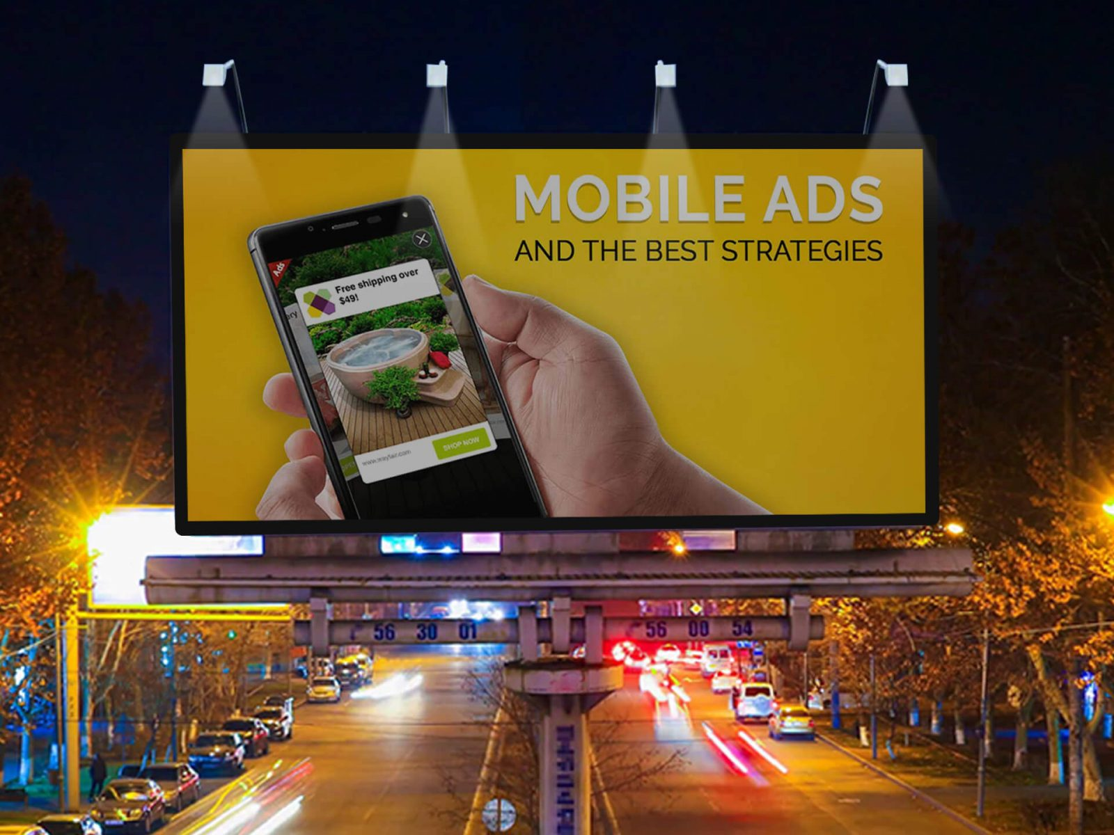 Digital Billboard Solutions for Out of Home Advertising | Xtreme Media