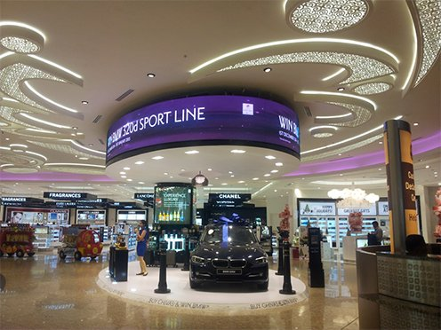 Indoor LED Displays For Airports - Xtreme Media