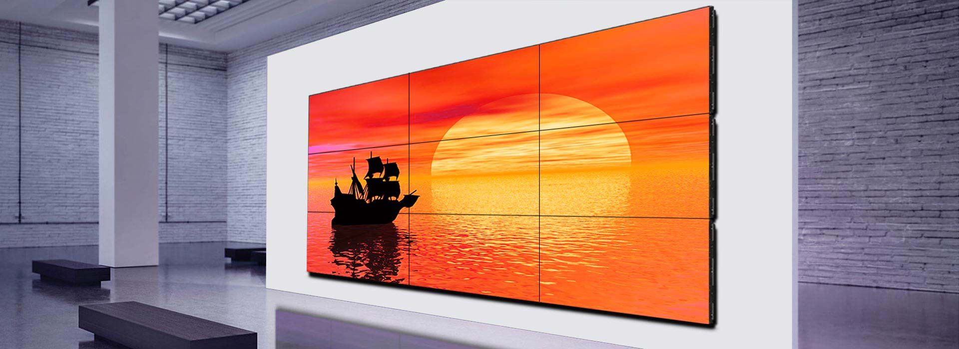 LCD Video Wall Displays Solutions
