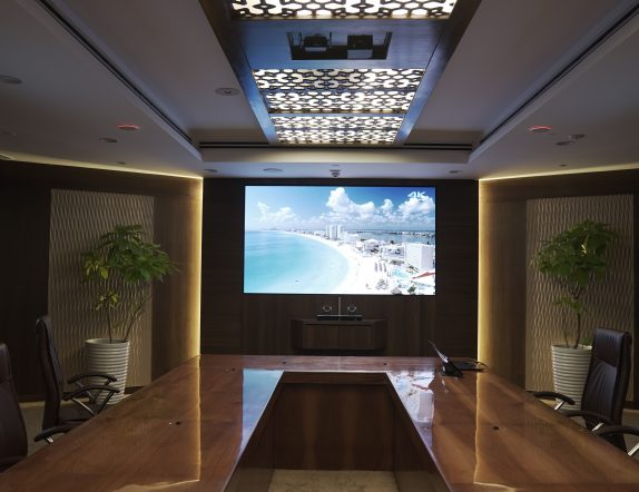 Captivating Boardroom Displays using finest pixel pitches at NSE