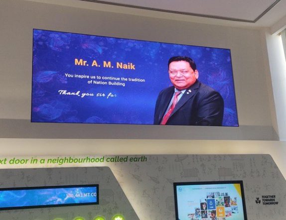 High ResolutionActive LED Display at Experience Centre for LNT Mumbai