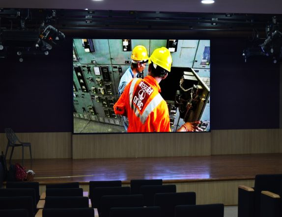 LED Stage backdrop for Auditorium at ONGC Headquaters