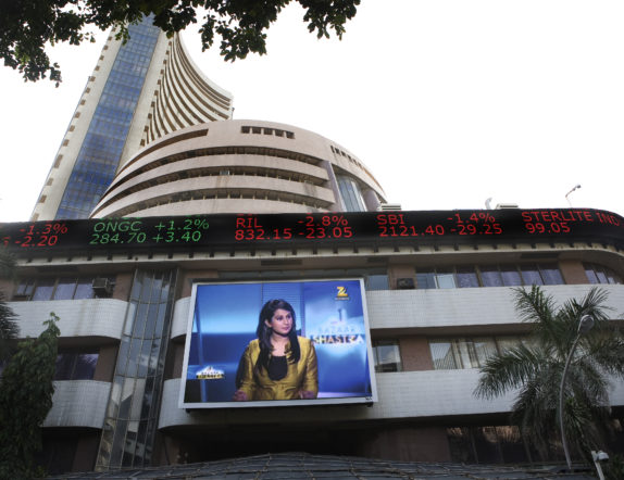 Outdoor LED Ticker and Screen for BSE