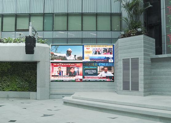 Smallest Outdoor Pixel Pitch in India – 1.95 mm